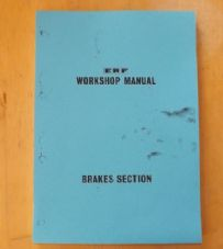 ERF.B series.Maintenance manual.Brakes.TSP 69.